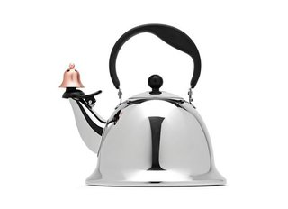 Donald Strum: Behind Great Product Design - Photo 5 of 5 - The Graves office is famous for tea kettles, the most popular of which is the Whistling Bird for Alessi. This Bells and Whistles tea kettle continues its legacy with a playful touch at the spout.