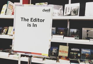The Editor Is In: 7 Tips for Pitching Stories to Dwell - Photo 1 of 1 - If you want to chat with a Dwell editor in person, stop by the Skylight Books booth at Dwell on Design between 1 and 3 pm on Sunday, June 23!