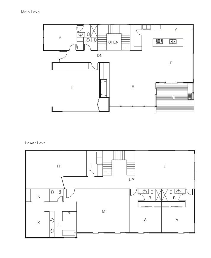 The floor plan of the Shayan House.