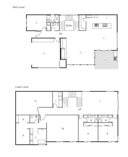 The First LEED Gold-Certified Family Home in San Diego - Photo 13 of 13 - The floor plan of the Shayan House.