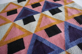 "6 Summer Rugs We Love - Photo 1 of 6 - ""Morgan"" flatweave rug in wool and cotton, designed by Aelfie and made in India. ($195-$455)"
