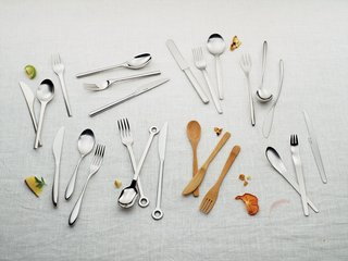 A Cutlery Above<br><br>The meal itself may be the main event, but your tender victuals aren't much of an attraction without a means to make their way from plate to mouth. Put aside the sporks as we test out the tastemakers of timeless flatware.