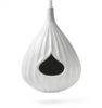 """This handthrown white stone birdhouse is """"the ultimate modernist pad for your friendly neighborhood birds."""" Photo  of 13 Great Modern Birdhouses modern home"""