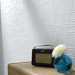Wallpaper That Fixes Walls - Photo 29 of 42 - WALLPAPER THAT FIXES WALLS<br><br>A new line of wallpapers from Graham and Brown allows you cover up that disaster you call a wall. Cinderblocks, paneling, really bad cracks? These wallpapers will smooth right over them.