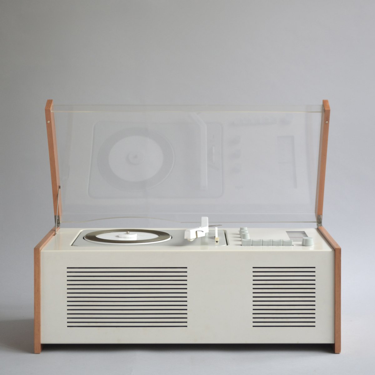 Deiter Rams-designed SK 5 phonosuper, perhaps the most iconic audio design in the Braun archives.  Dieter Rams is the man! by Nick Dine from Shop the Vintage Braun Catalog from Your Web Browser