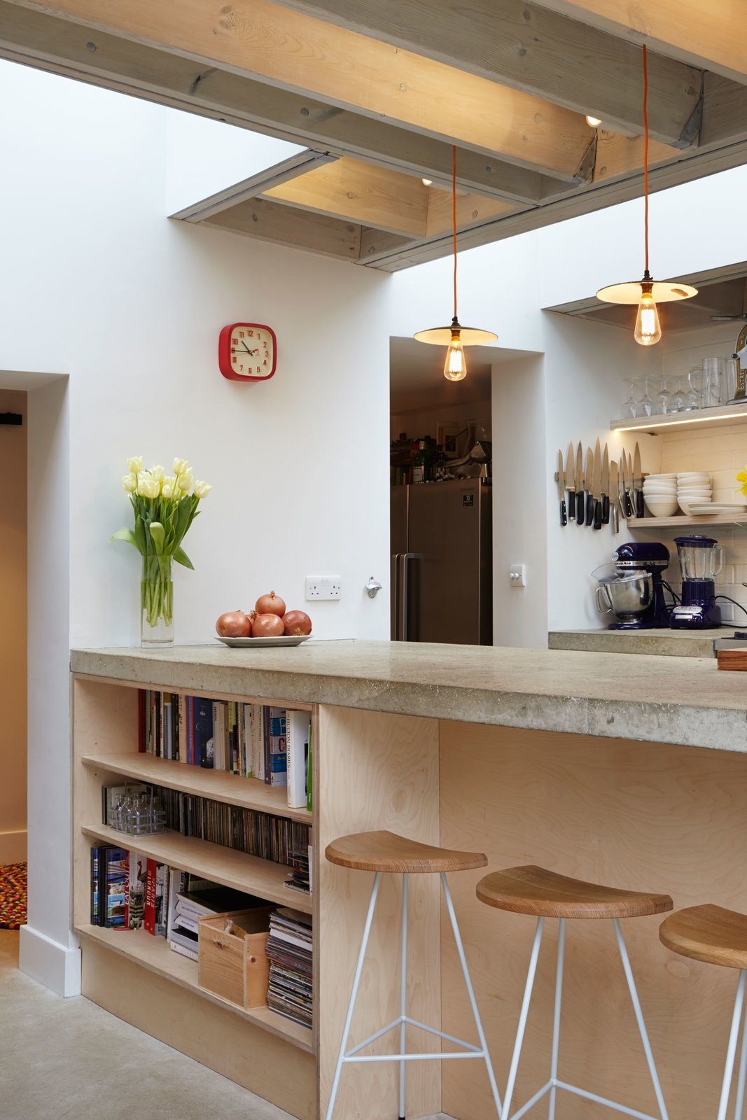The Kitchen Furniture Company A Modern Addition Gives A London Chef A Dream Kitchen A Butch Elich