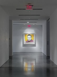 It's often been said that after Warhol created this print of Nixon, the notoriously petty leader requested Warhol be audited for several years to come.<br><br>Credit Stefan Altenburger, Courtesy The Brant Foundation