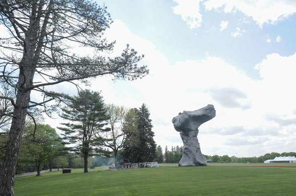 Urs Fischer, the grounds of the Brant Foundation Study Center.<br><br>Credit: Joe Schildhorn /BFAnyc.com, Courtesy: The Brant Foundation