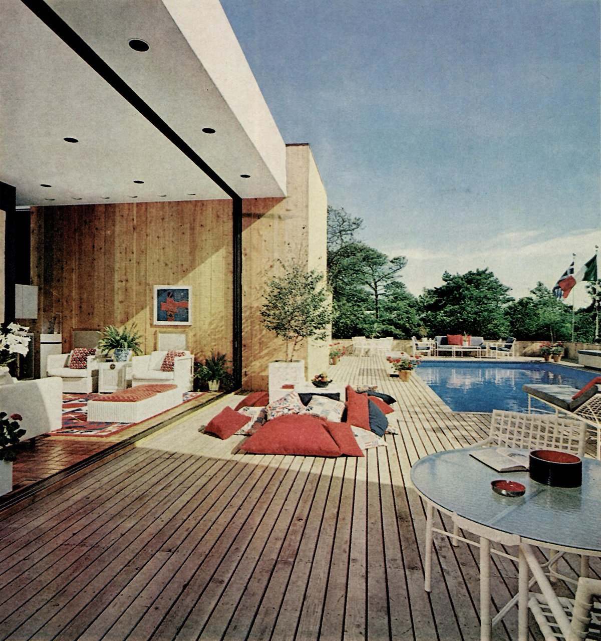 616 Shore Walk by Marcel Bretos (1971).  Photo 5 of 8 in Must-See Modern Beach Houses on Fire Island Tour