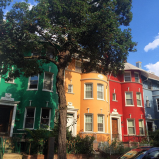 Photo of the Week: Rainbow Row Houses in DC - Photo 1 of 1 -