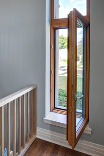 Aluminum-clad wood Zola European windows provide Passive House performance.<br><br>Photo by: Eric Hausman Photography