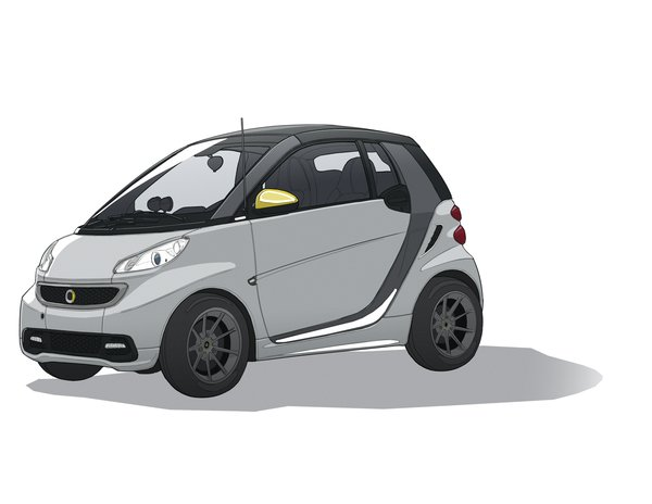 Smart ForTwo BoConcept Editionby Smart  To appeal to design-savvy consumers, Smart collaborated with the Danish furniture company BoConcept to develop the ForTwo's leather-trimmed interior. On the market in the USA in late 2013, it offers a top speed of more than 78 mph. When fully charged, its range is 76 to 90 miles. Smart's handy mobile app alerts drivers to real-time battery status and the closest charging stations. At 8.8 feet long, it's among the smallest cars on the market today. smartusa.com