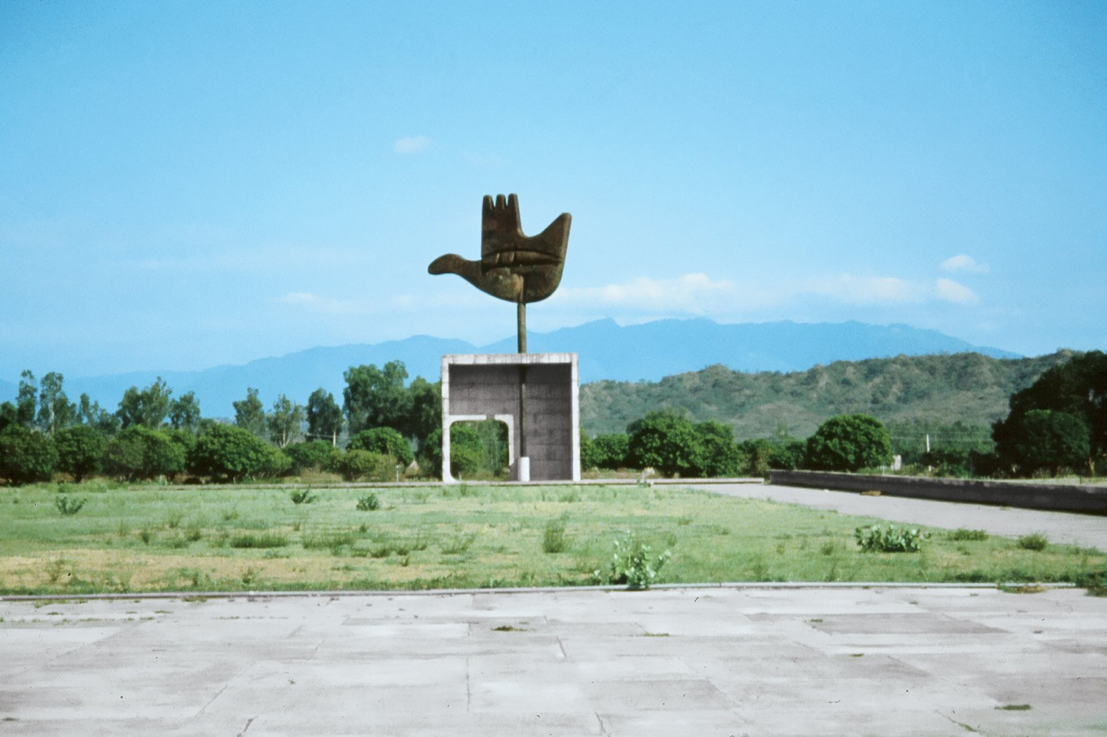 Photo 1 of 42 in modern master le corbusier by matthew keeshin the architect designed the now iconic open hand monument as a symbol of indias biocorpaavc