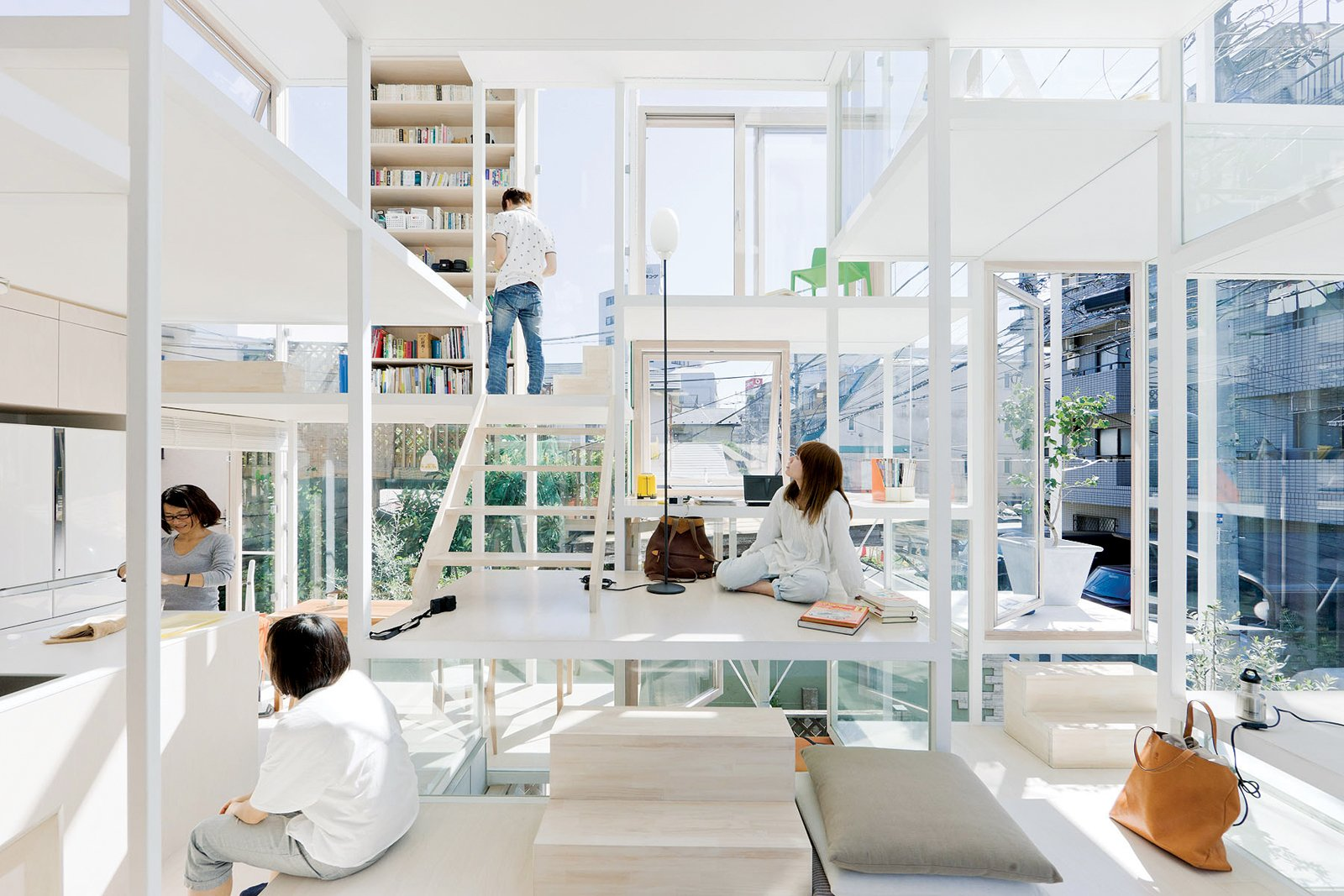 """""""I thought it would be nice to make a city like architecture or architecture like a city."""" —Sou Fujimoto"""