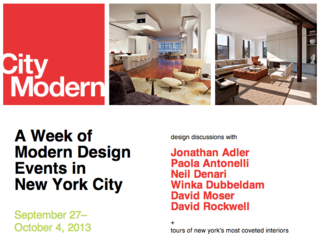 Join Us in NYC for City Modern 2013 - Photo 1 of 2 -