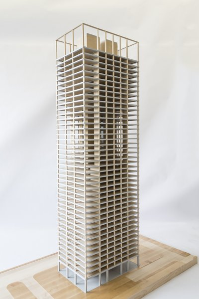 While the idea of 42 stories of wooden floors stacked on top of each other may seem shaky, the SOM Timber Tower Research project showed that such a sustainable superstructure is in fact possible. The concept calls for a concrete jointed timber frame to keep the structure anchored. More research, as well as building codes changes, would need to occur before anybody breaks ground. As cities look for sustainable construction to house growing populations, architects are starting to turn to wood as a more responsible solution.