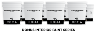 Domus Mineral Paints by ROMA.