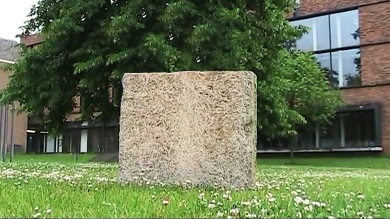 Reinforced Wood Wool Cement Board by Dutch Design Initiative.