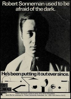 The Lighting Designer Who Has Melded Form with Function for Decades - Photo 2 of 10 - Throughout Sonneman's years of being in the industry, he managed to turn lighting design into an art form, while creating a strong alliance between form and function. This advertisement from the early 1970s shows the range of artistic forms he brought to production in the early years of his business.