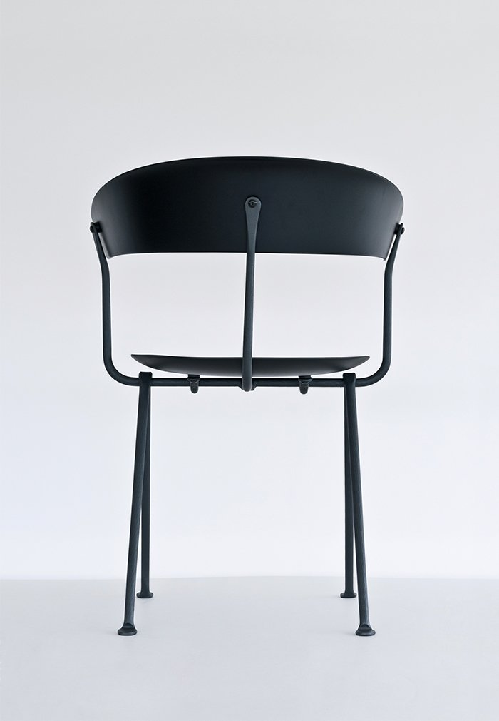 Erwan and Ronan Bouroullec's new Officina collection for Magis includes chairs, stools, and tables made with wrought-iron frames, marking the brothers' first experimentation with the material. In this age-old technique, iron is hammered into shape by hand.  Photo 1 of 3 in Product Designer Erwan Bouroullec on the Magic of Wrought Iron