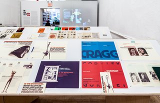 Graphic Designer Richard Hollis at NYC Artists Space - Photo 2 of 7 -