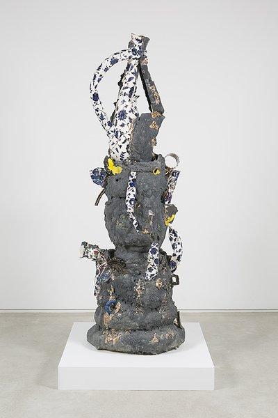Francesca DiMattio, Iznik, 2015, glaze and luster on porcelain and stoneware.