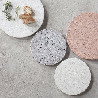 Material Guide: Everything You Need to Know About Terrazzo - Photo 13 of 16 - The Terrazzo Platter from Serax is a sophisticated kitchenware accent and can be used as a serving tray, a board for cheese and charcuterie, or even as a centerpiece on a dining room table.