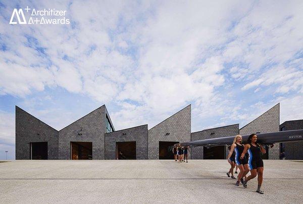 WMS Boathouse at Clark Park Studio Gang Architects