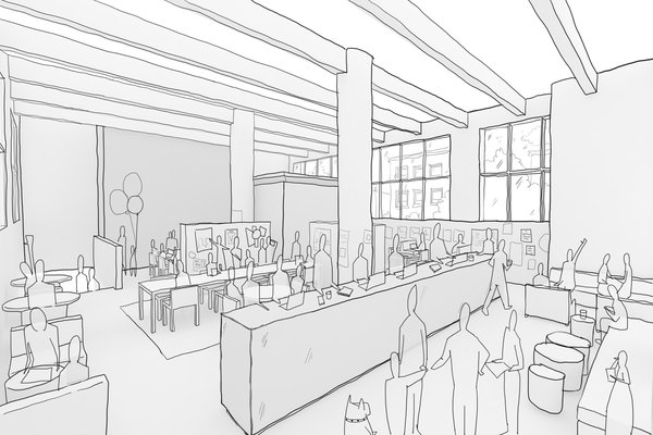 Makeshift Society is opening a Brooklyn outpost in early 2014, which will feature co-working spaces for creatives.