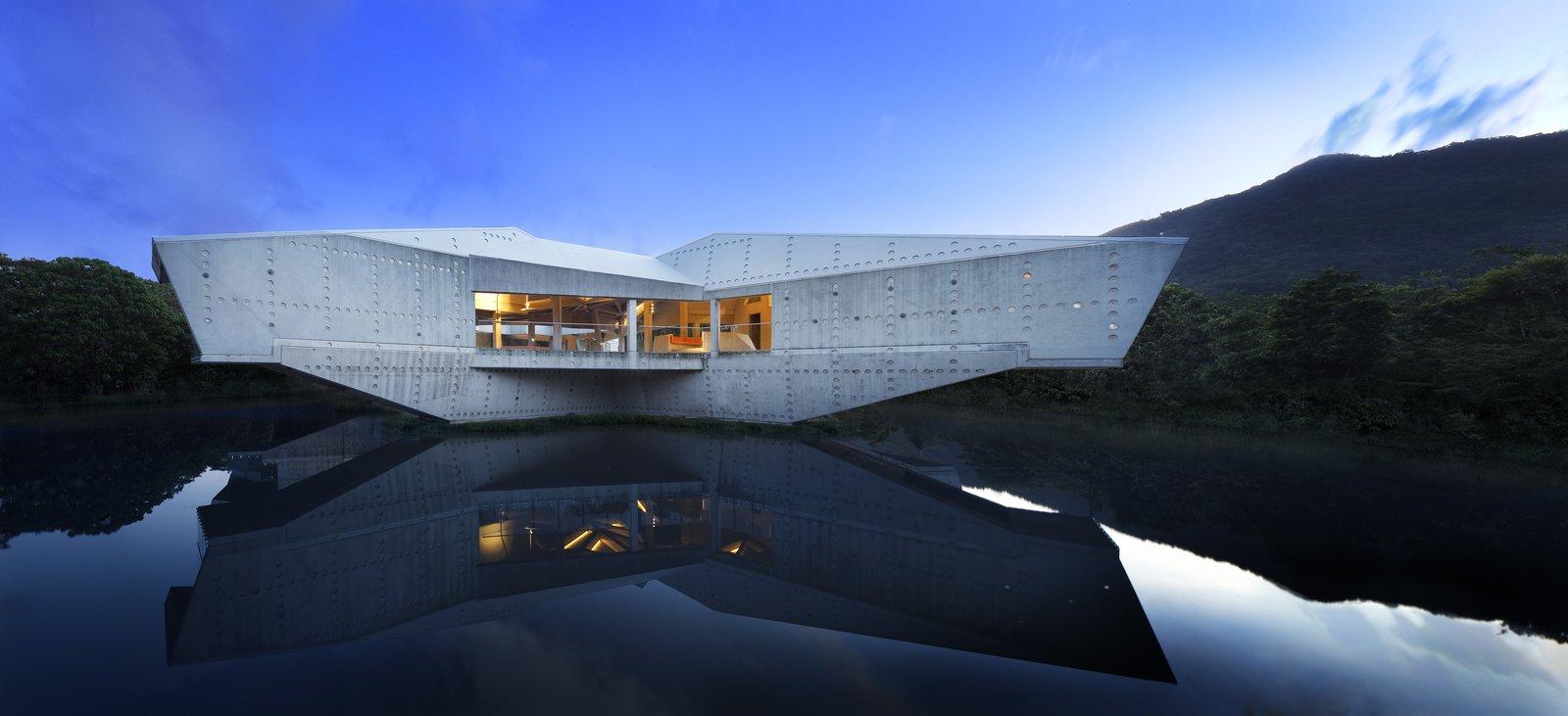 Stamp House (Cape Tribulation, Australia)  Architect: Charles Wright Architects  Category: House Cantilevers by Luke Hopping