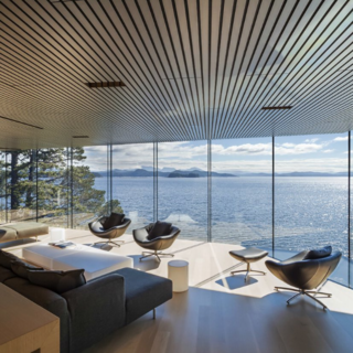 Photo of the Week: A Living Room Perched Above the Sea - Photo 1 of 1 -