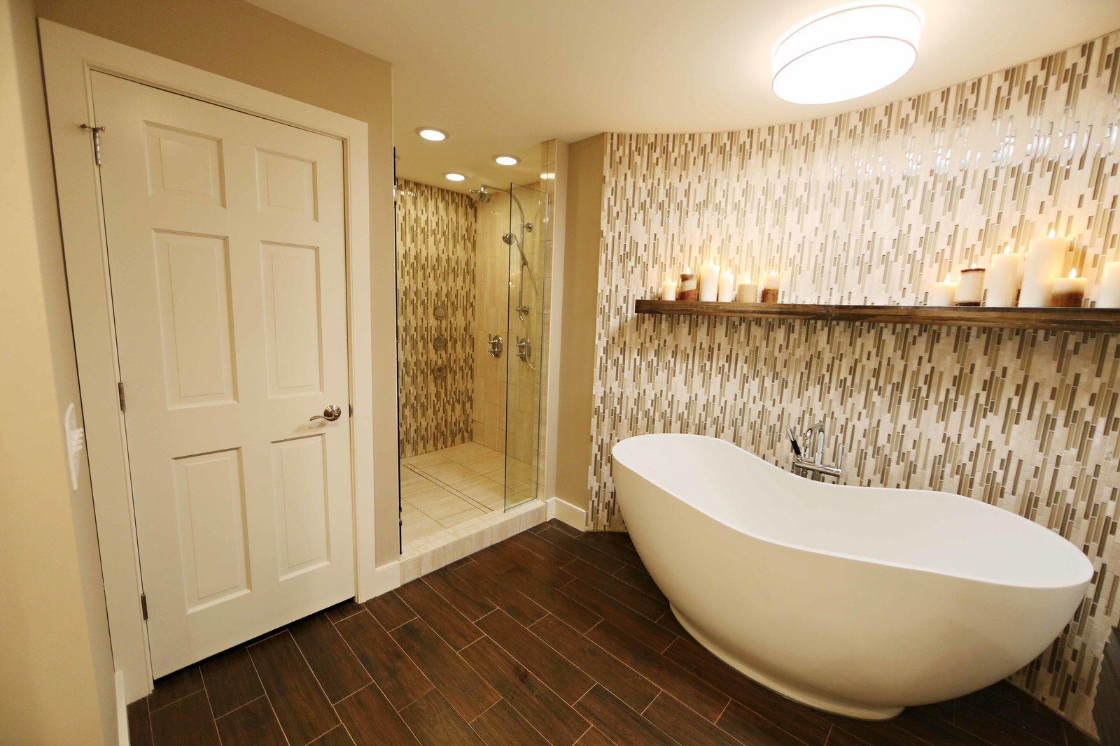 Getting a Solatube tubular daylighting device is painless. Their national network of dealers offers free in-home consultation and comprehensive installation services.  Bathroom by Nate Irwin from See How Solatube Products Stream Natural Light Into Even the Darkest Corners of the Home