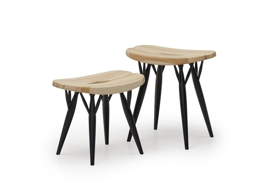 The Pirkka line for Artek from 1955—which includes this low stool—embody the the kind of organic modernism for which Finland is known. The versatile design is available in a range of heights (low, counter or high bar), wood finishes, and types of seating.  100+ Best Modern Seating Designs by Dwell from Aalto Isn't the Only Finnish Modernist: Meet Ilmari Tapiovaara