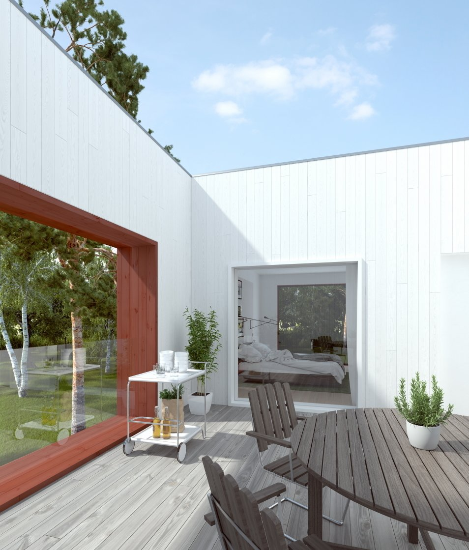 """""""Balcony"""" was the most popular search term on Hemnet in 2014. Bedrooms by Dwell"""