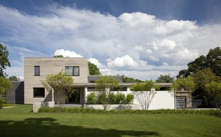 A Modern Green Home in a Historic Colonial Town