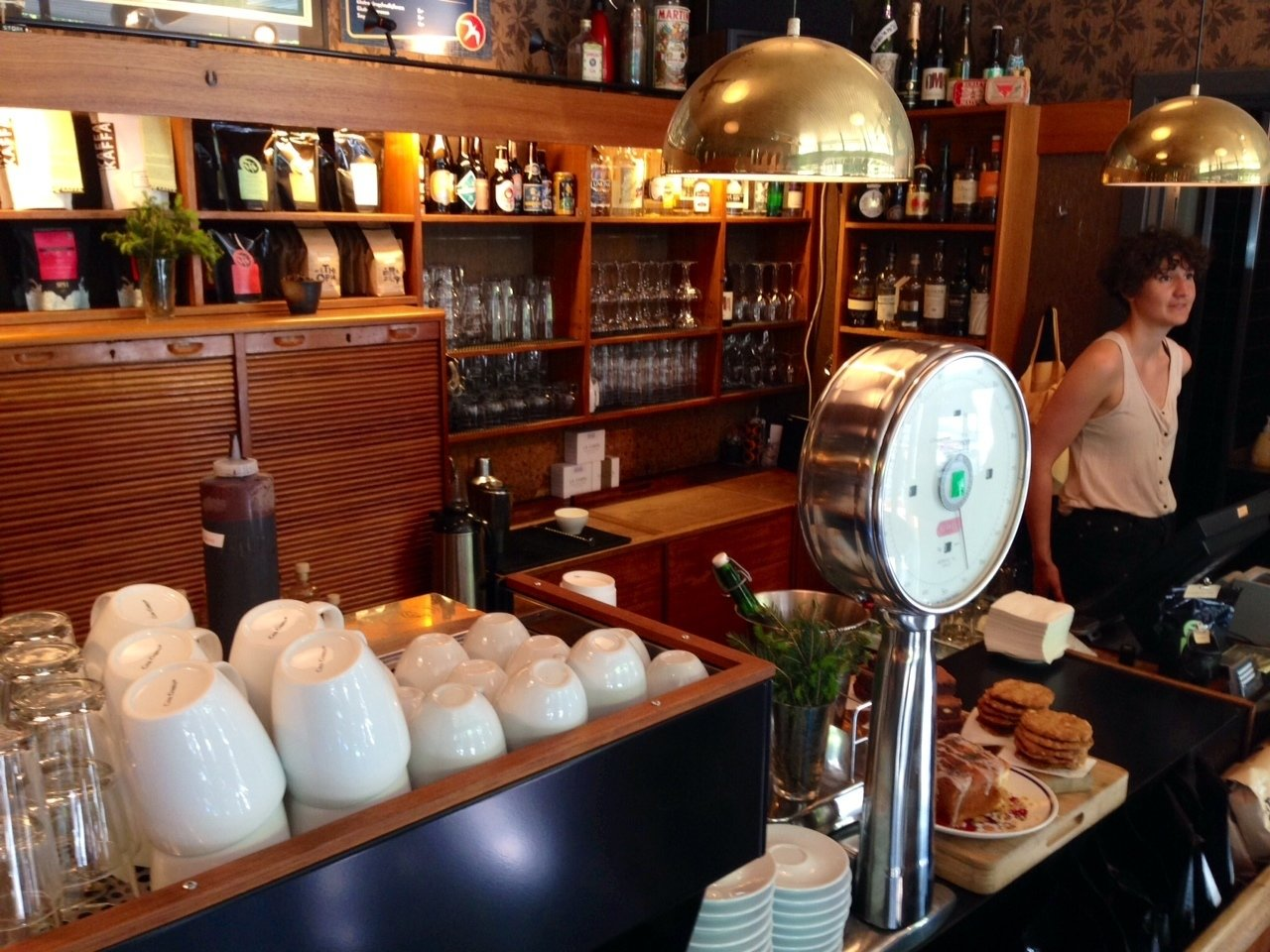 Fuglen  Fans of mid-century modern furniture shouldn't miss the recently expanded Fuglen, a popular vintage cafe by day and an even more popular cocktail lounge by night. Spread out across four snug rooms, the bar-cafe doubles as a furniture showroom, and virtually all of the low-slung furnishings, which date mostly from the 1950s and 60s, are for sale. Many reveal the influence of Japanese aethetics on Norwegian designers, many of whom explicitly sought a warmer version of classic Scandinavian modernism.  Photo 7 of 7 in 5 Places to Visit in Oslo