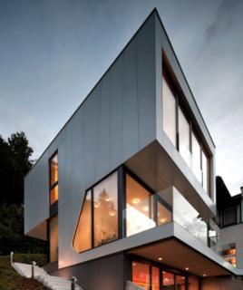 Photo of the Week: Angular Austrian Lake House - Photo 1 of 1 -