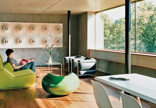 Sourcing Guide for Modern Prefab Companies in Europe - Photo 3 of 11 - Moinian and Meili Residence by Felix Oesch, Switzerland<br><br>This spare, concrete family home outside of Zurich took nine months to build using a prefabricated panel system developed by the German manufacturer Syspro that's more commonly used for building cellars rather than entire houses.