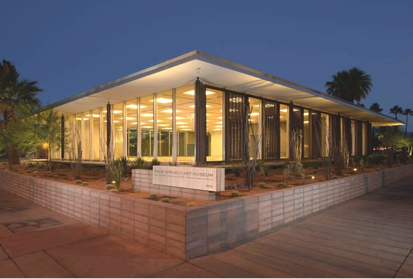 Historic Preservation and Adaptive Reuse. When AIA architects Chava Danielson and Eric Haas of DSH // architecture transformed a midcentury Los Angeles insurance building into the Larchmont Charter High School campus, featured in Dwell's May 2015 issue, they preserved key elements of the original structure, while reconfiguring the interior, adding vibrant washes of color, and creating classrooms that would inspire students. The two will walk the audience through the project.  Joining Danielson and Haas onstage will be Leo Marmol, FAIA, of Marmol Radziner, whose firm has undertaken the most sensitive restorations of iconic architecture, including Richard Neutra's Kaufmann House, Rudolf Schindler's Elliot House, and E. Stewart Williams' 1961 Santa Fe Federal Savings and Loan building in Palm Springs, California (pictured above), which was repurposed into the Palm Springs Art Museum Architecture and Design Center. Join the trio as they embark on a visual and philosophical journey through the concepts of preservation, restoration and adaptive reuse.  This course will be held on Saturday, May 30, 12:00 p.m. at Stage A