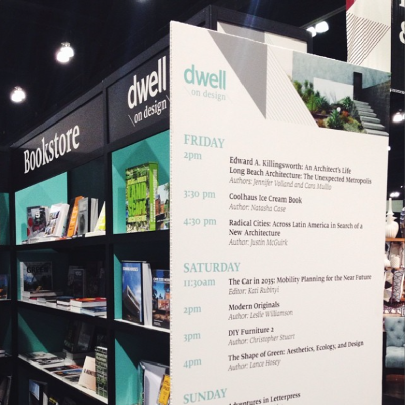 """""""Book signings all weekend long at #dod2014 / courtesy of Skylight Books (booth #1815)."""""""