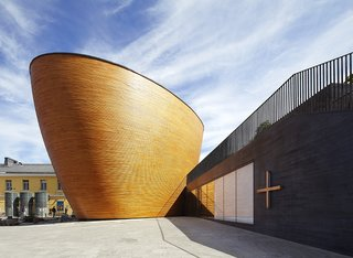 You Won't Believe That These Incredible Modern Buildings are Chapels and Synagogues - Photo 16 of 21 -