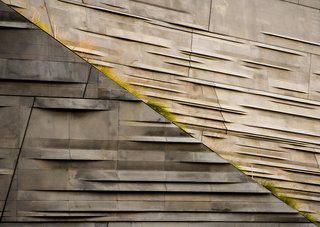 "Nikola Olic's Dizzying Architectural Photography - Photo 6 of 16 - Concrete Lawn, 2014. ""This new building in downtown Dallas explores is the representation of nature and flora found through Texas,"" says Olic. ""Its garden, roof, and balconies hold plant life in modern concrete enclosures, often providing unexpected disorienting angles."""