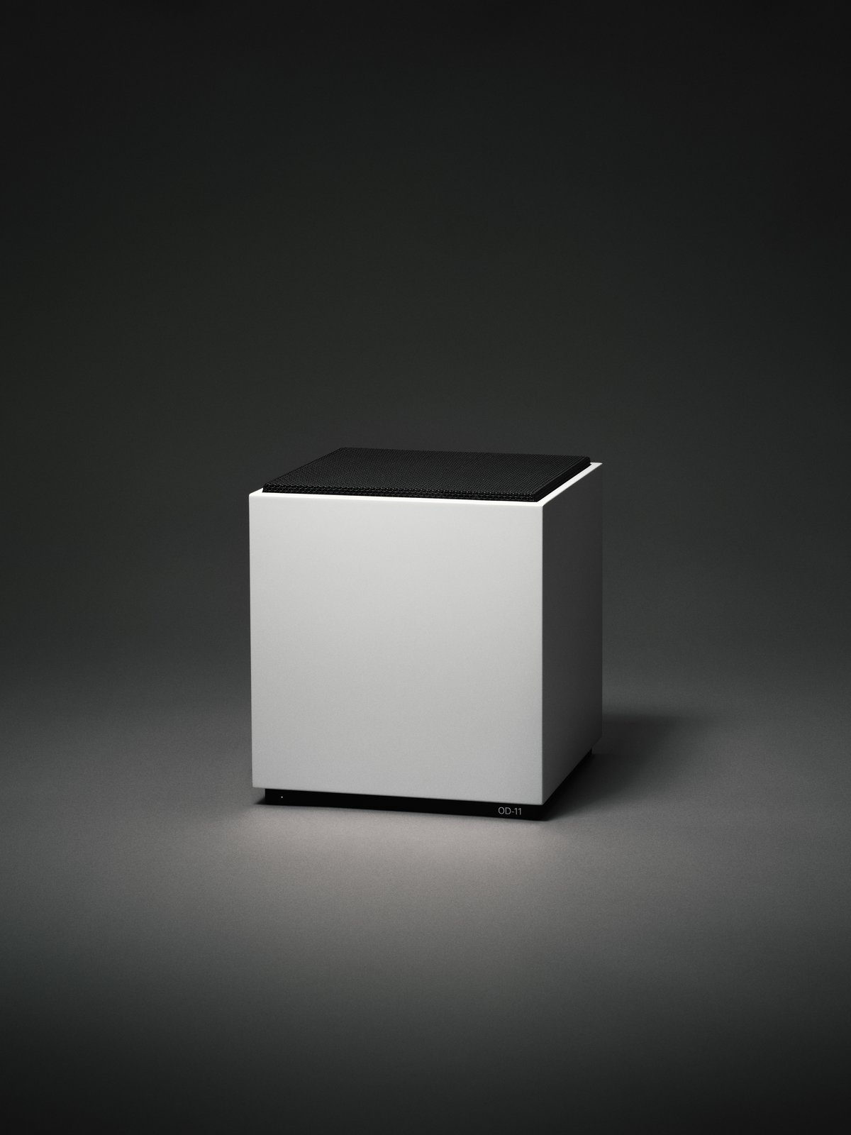 On its own, the OD-11 is both simple and visually arresting. A white cube, the speaker almost feels sculptural. The sleek styling helps to make the function of the product nearly withdraw from focus. Of course, exquisite engineering rests beneath the grille.  Photo 2 of 4 in A Classic 1970s Speaker Gets New Life for a Modern Audience