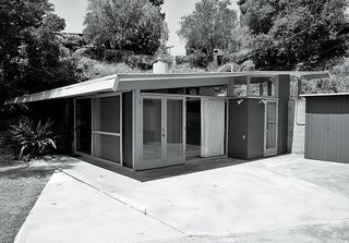L.A. Renovation Respects Midcentury Bones (While Adding Some Flair) - Photo 13 of 15 - The backyard used to be dominated by an unspectacular concrete patio.