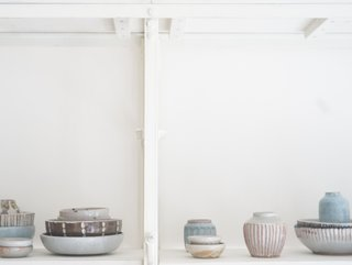 Many of the items on Quitokeeto's roster are limited in quantity, like these ceramics.