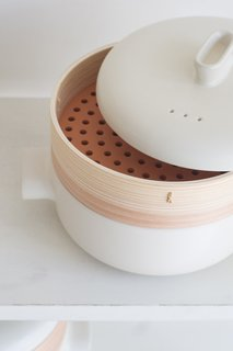 """Shops We Love: Quitokeeto - Photo 8 of 8 - This bamboo steamer available through Quitokeeto boasts a simple, yet unexpected silhouette. """"We only want to share items that spark joy,"""" Swanson says. """"And for that to happen it's often a combination of care in production, design, usefulness, and charm."""""""