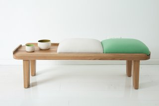 Modern Furniture Designer Continues Her Family Tradition - Photo 8 of 14 - The Japanese-inspired tea bench is a new design.