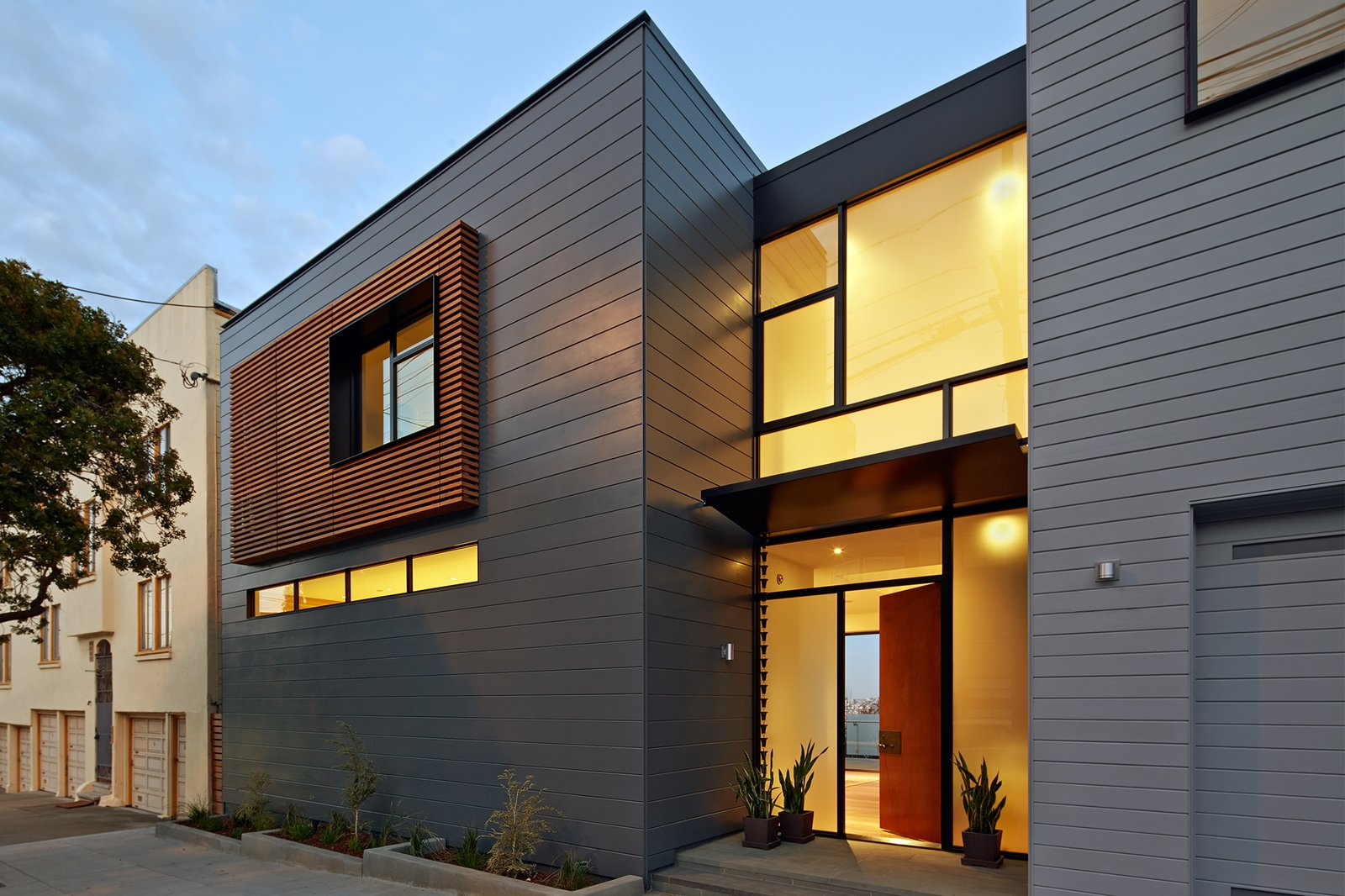 Noe residence modern home in san francisco california by for Modern homes san francisco