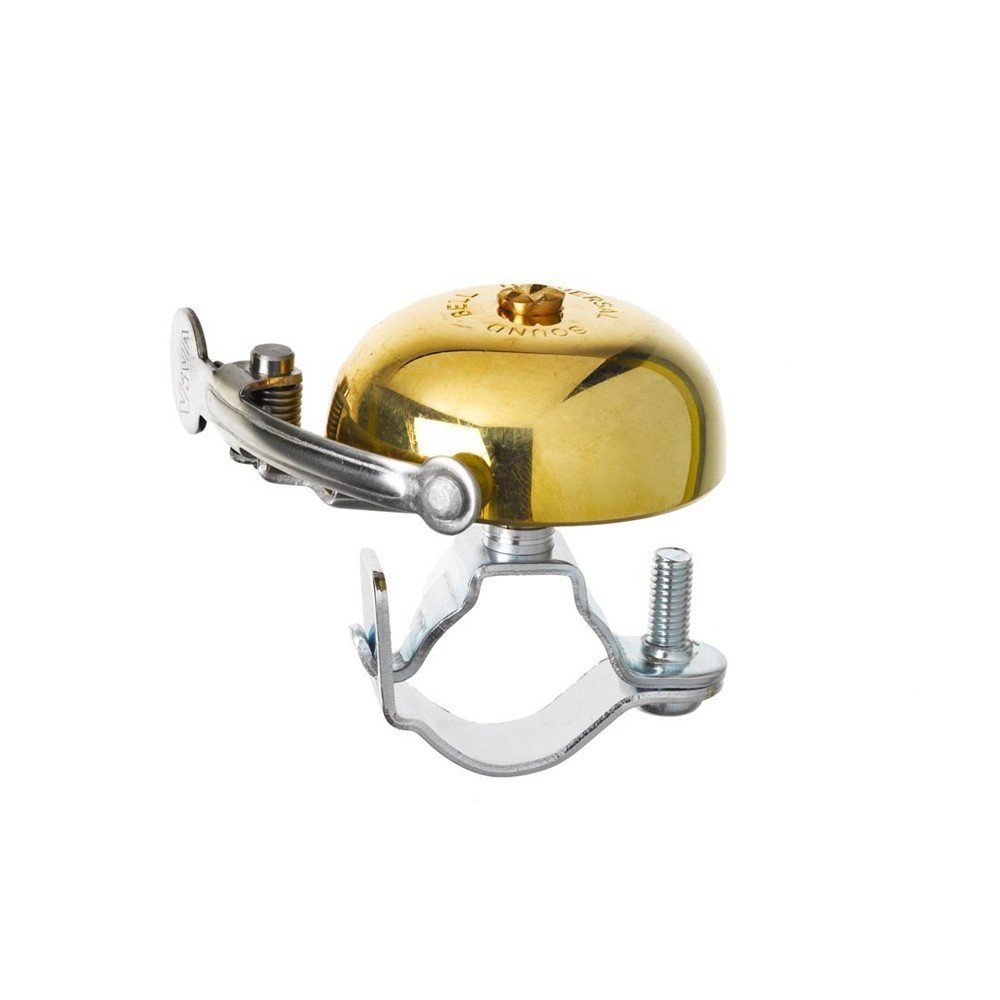 Last but not least, there's the classic Viva Brass Bicycle Bell whose retro-inspired form is 100% brass. An adjustable screw means this accessory can attach to a wide range of bike frames.  Bicycle, Bicycle by Aileen Kwun from Accessories for the Modern Bicycler