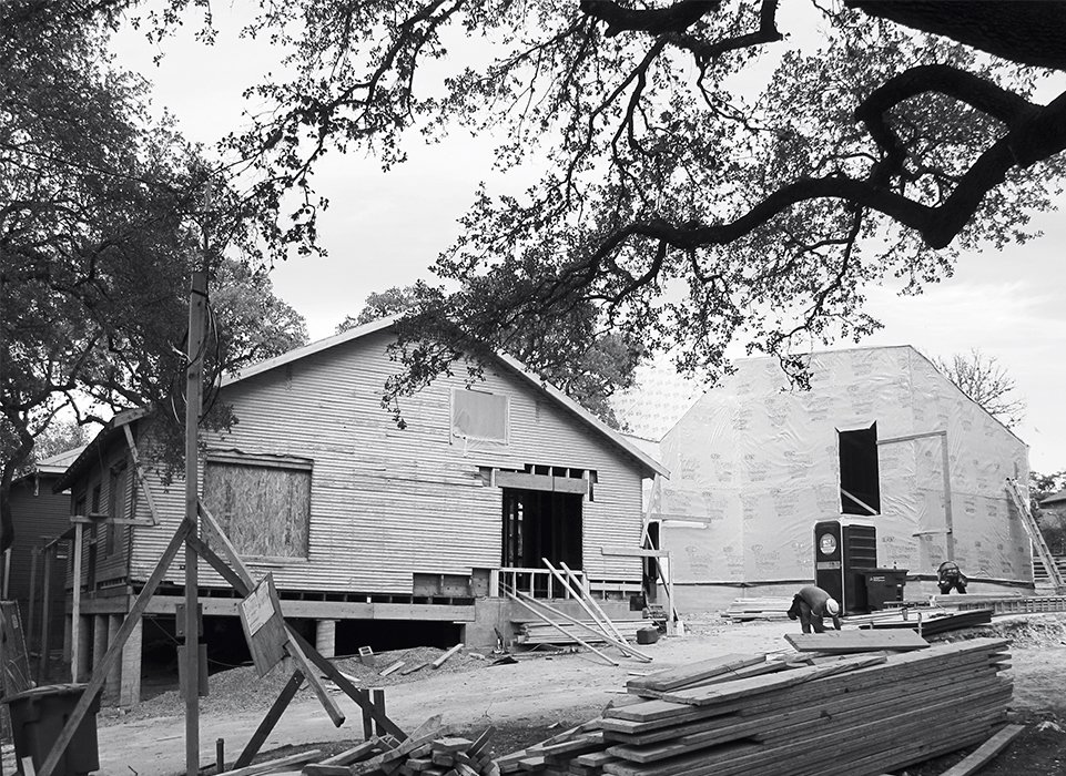 The bungalow before the renovation. 1920s Bungalow Plus Modern Addition Equals Perfect Austin Home - Photo 4 of 12